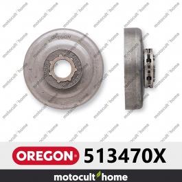 "Pignon Oregon 513470X 3/8"" Power Mate Petit 7 (SM7)"