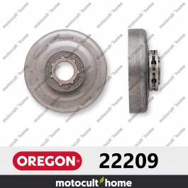"Pignon Oregon 22209 3/8"" Power Mate Standard 7 (STD7)"