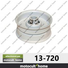 Poulie Galet tendeur Mtd 7560117 hauteur 25mm