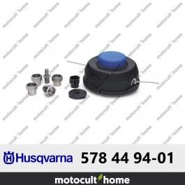 Tête de coupe universelle T35 Husqvarna avec adaptateurs multi-marque