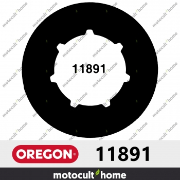 Bague de pignon Oregon 11891 .325andquot; Petite Cannelure 7 (SM7)-30