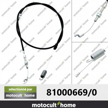 Câble de traction GGP Castelgarden 810006690 ( 81000669/0 )-30