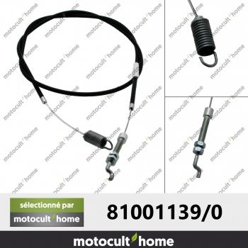 Câble de traction GGP Castelgarden 810011390 ( 81001139/0 )-30