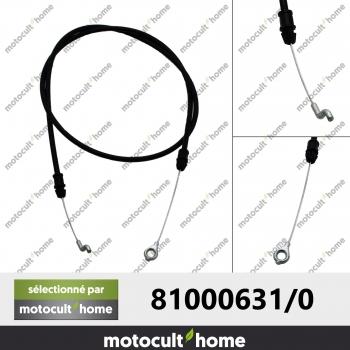 Câble de frein moteur GGP Castelgarden 810006310 ( 81000631/0 )-30
