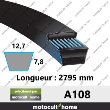 Courroie A108-30