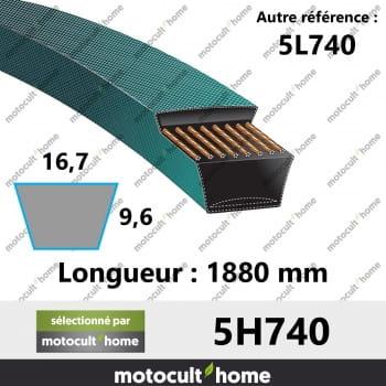 Courroie 5L740-30