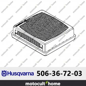 Filtre à air Husqvarna 506367203 ( 5063672-03 / 506 36 72-03 )-30