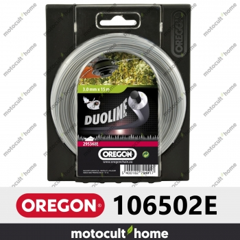 Bobine de fil Duoline armé Oregon rond 3mm 60m-30