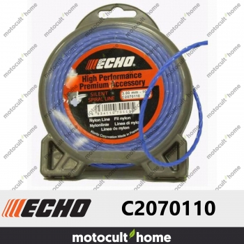 Bobine de fil hélicoïdal silencieux 3mm 10m Echo C2070110-30