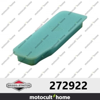Filtre a air mousse Briggs and Stratton 272922-30