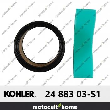 Préfiltre et filtre à air Kohler 24 883 03-S1 (2488303-S1 / 2488303S1 )-30