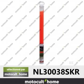 Fil nylon carré 3mm x 38cm 35brins-30