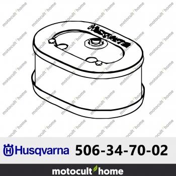 Filtre à air Husqvarna 506347002 ( 5063470-02 / 506 34 70-02 )-30