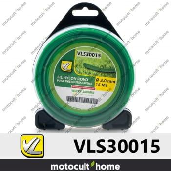 Bobine de fil rond 3mm 15m Verts Loisirs-30