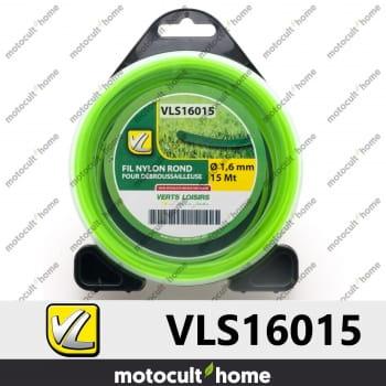 Bobine de fil rond 1,6mm 15m Verts Loisirs-30
