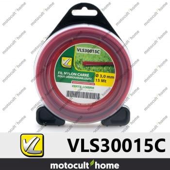 Bobine de fil carré 3mm 15m Verts Loisirs-30