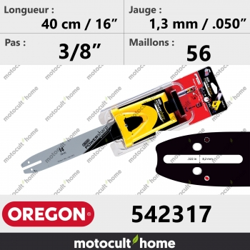 Guide de tronçonneuse Oregon 542317 Powersharp 40 cm-30