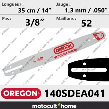 Guide de tronçonneuse Oregon 140SDEA041 Double-Guard 35 cm-30