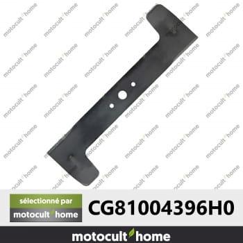 Lame de tondeuse pour Honda CG81004396H0 Castelgarden 81004396/0-30