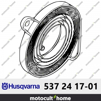 Cassette de ressort complète Husqvarna 537241701 ( 5372417-01 / 537 24 17-01 )-30