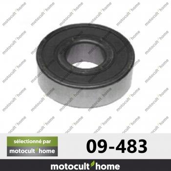 Roulement de palier Ø ext. 40 mm Ø int. 16 mm ht. 12 mm-30