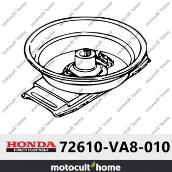 Porte lame complet Honda 72610VA8010 ( 72610-VA8-010 )-30