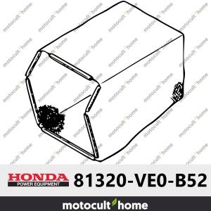 Tissu du bac de ramassage Honda 81320VE0B52 (81320-VE0-B52 )-20
