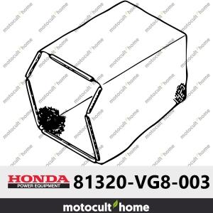 Tissu du bac de ramassage Honda 81320VG8003 (81320-VG8-003 )-20