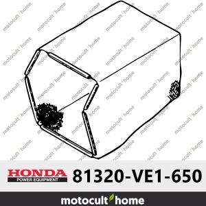 Tissu du bac de ramassage Honda 81320VE1650 (81320-VE1-650 )-20