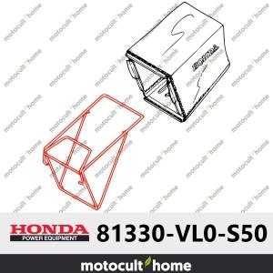 Cadre du bac de ramassage Honda 81330VL0S50 (81330-VL0-S50 )-20