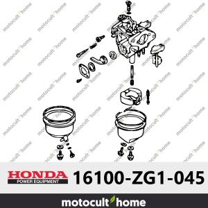 Ensemble Carburateur Honda 16100ZG1045 ( 16100-ZG1-045 ) (BF05A F)-20