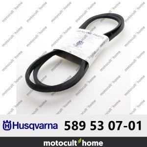 Courroie Husqvarna 589530701 ( 5895307-01 / 589 53 07-01 )-20
