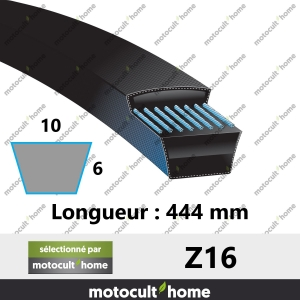 Courroie Z16-20