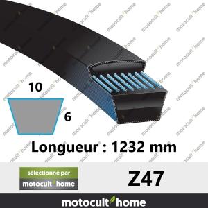 Courroie Z47-20