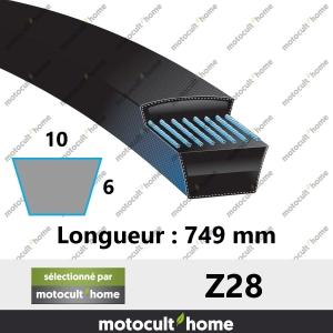 Courroie Z28-20