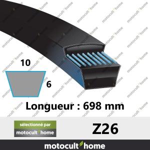Courroie Z26-20