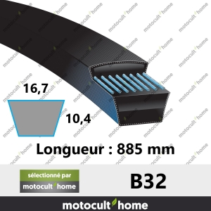 Courroie B32-20