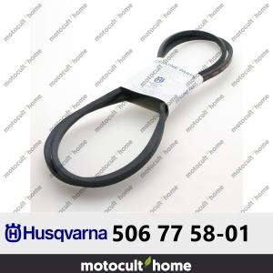 Courroie Husqvarna 506775801 ( 5067758-01 / 506 77 58-01 )-20