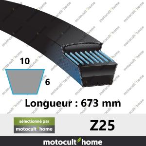 Courroie Z25-20