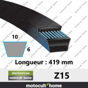 Courroie Z15-20