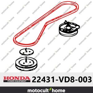 Courroie en V Honda 22431VD8003 ( 22431-VD8-003 )-20