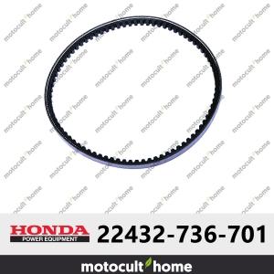 Courroie crantée Honda 22432736701 ( 22432-736-701 )-20