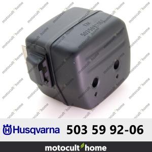 Silencieux déchappement Husqvarna 503599206 ( 5035992-06 / 503 59 92-06 )-20