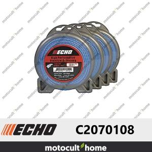 Bobine de fil hélicoïdal silencieux 2,4mm 15m Echo C2070108-20