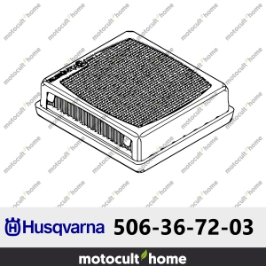 Filtre à air Husqvarna 506367203 ( 5063672-03 / 506 36 72-03 )-20
