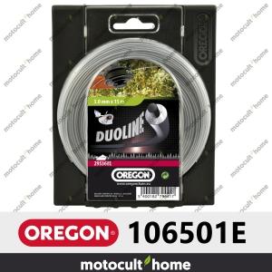 Bobine de fil Duoline armé Oregon rond 2,4mm 90m-20