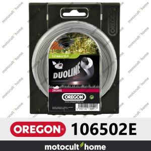 Bobine de fil Duoline armé Oregon rond 3mm 60m-20