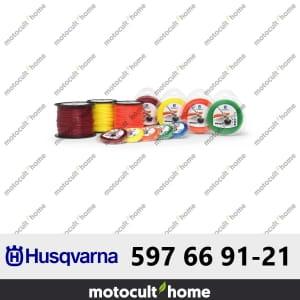 Bobine de fil silencieux Husqvarna Whisper 2,4mm 77m-20