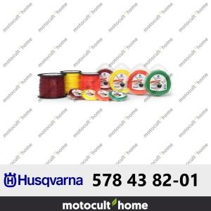 Bobine de fil rond Husqvarna 3mm 240m-20