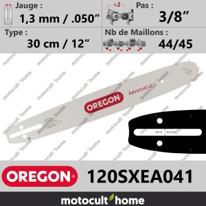 "Guide de tronçonneuse Oregon 120SXEA041 AdvanceCut 30 cm 3/8""-20"
